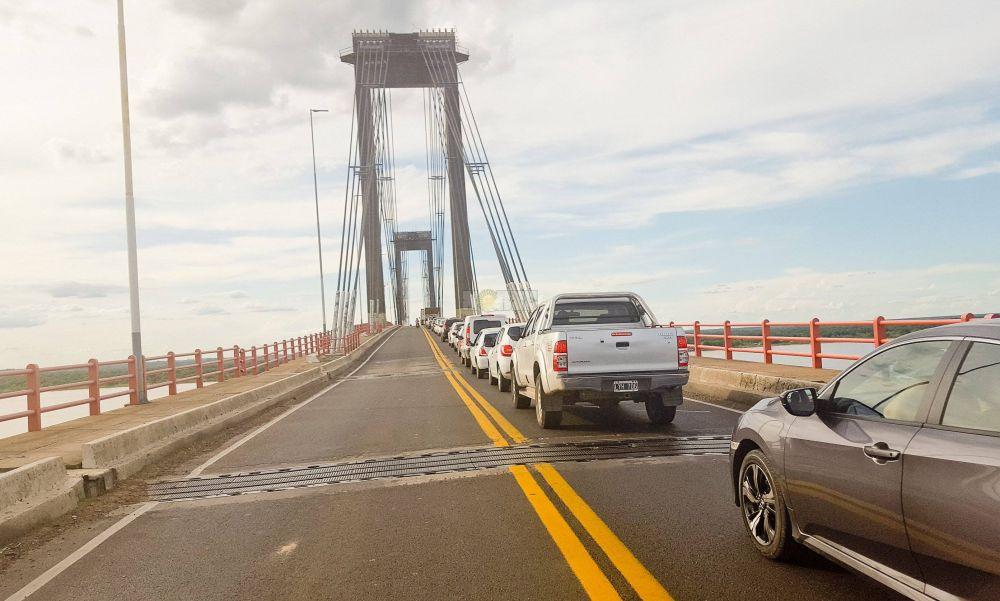 Liberan la circulación en el Puente: enteráte quienes podrán transitar