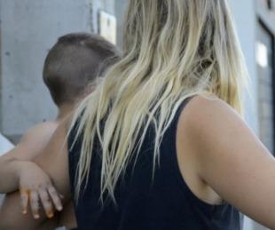 foto: Motochorros arrastran a un bebé media cuadra en un intento de robo