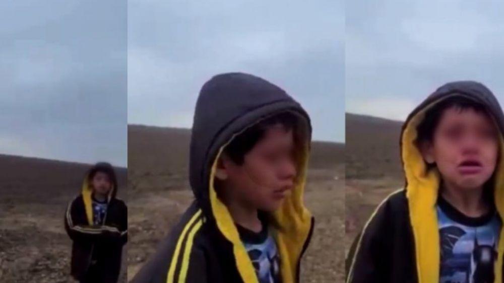 Desgarrador video de un niño migrante que hallaron solo en el desierto de Texas