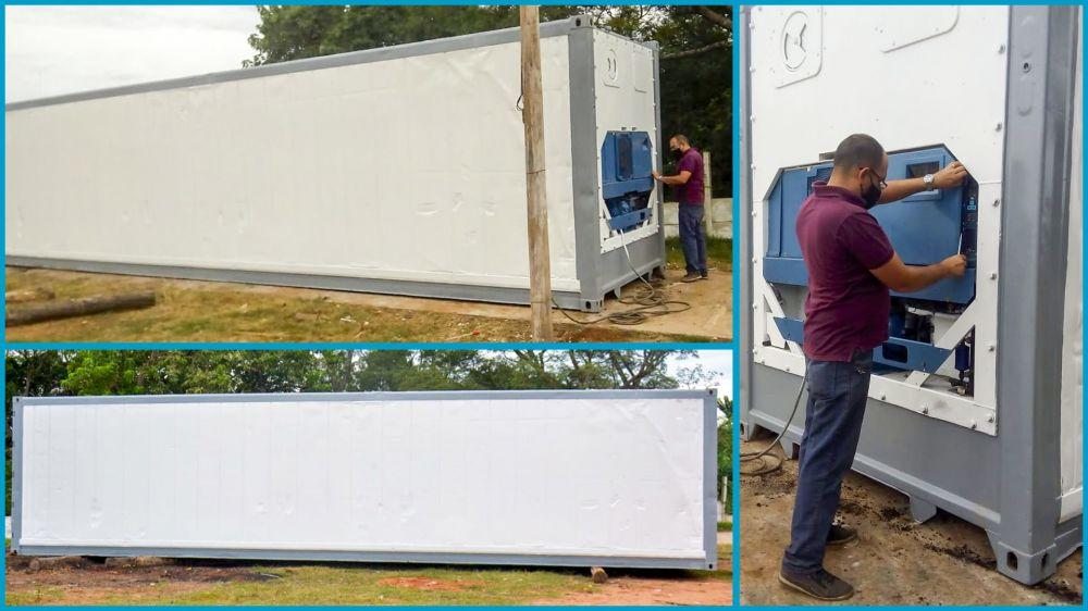 Se instaló la primera cámara frigorífica para residuos patológicos