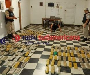 foto: Prefectura secuestró cargamentos de más de 150 kilos de marihuana