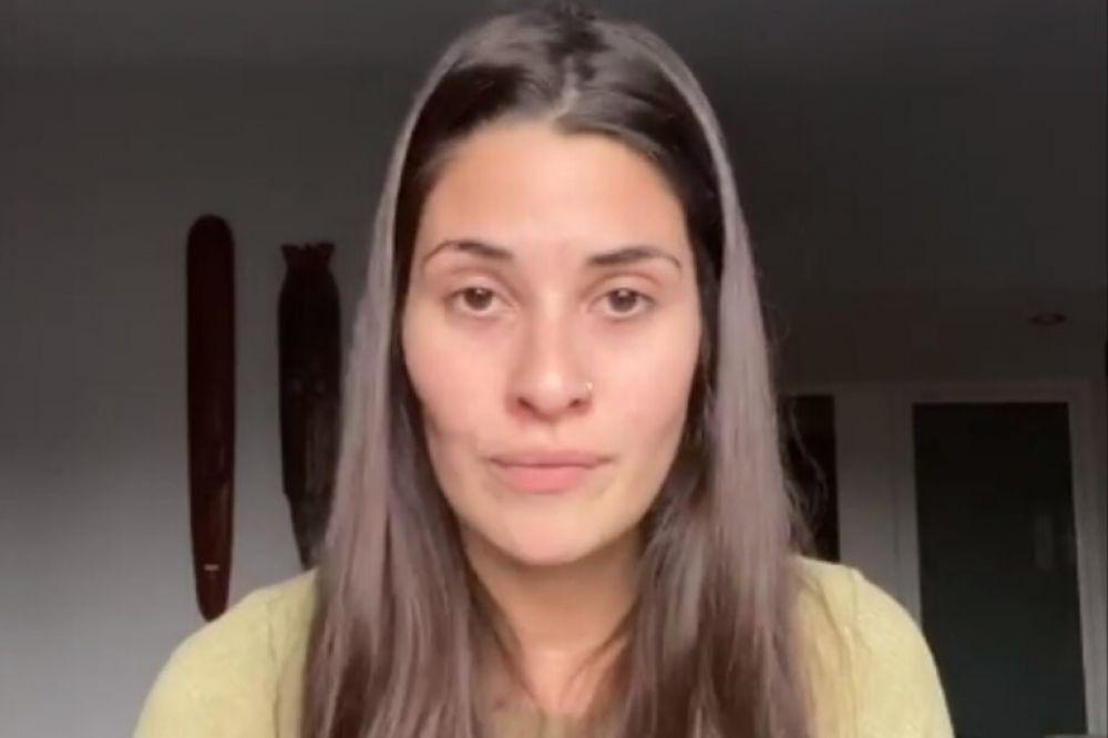 Ivana Nadal indignada porque tuvo que hisoparse para viajar