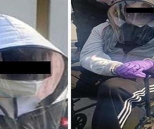 foto: Se disfrazaron de ancianos y recibieron la vacuna contra el COVID-19