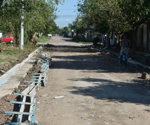 foto: La Provincia abre otro frente de obra de cordón cuneta