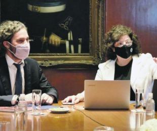 foto: Cafiero y Vizzotti se reúnen con científicos para analizar medidas