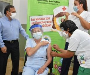 foto: Corrientes puso en marcha la Campaña de Vacunación Antigripal