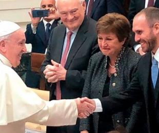 foto: El papa Francisco recibirá mañana a Martín Guzmán en Roma
