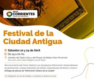 foto: Por aumento de casos, suspenden el Festival de la Ciudad Antigua