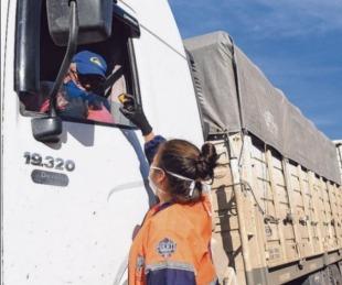 foto: Nuevas medidas para el ingreso al país de los transportistas