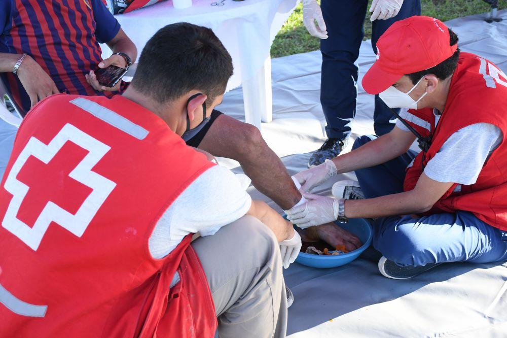 Inició el proyecto Cruz Roja con tu Barrio