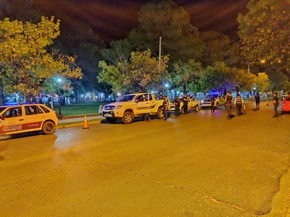 Tránsito realizó operativos en distintos puntos de Paso de los Libres