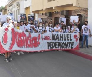 foto: Nahuel Pedemonte salió de la sala de terapia intensiva