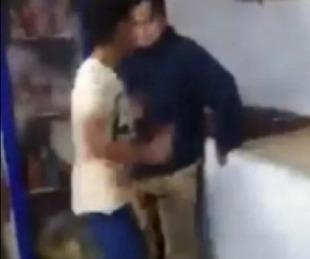 foto: Violento golpeó e insultó a un joven con síndrome de Down