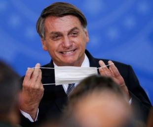 foto: Jair Bolsonaro se burló de las restricciones en la Argentina
