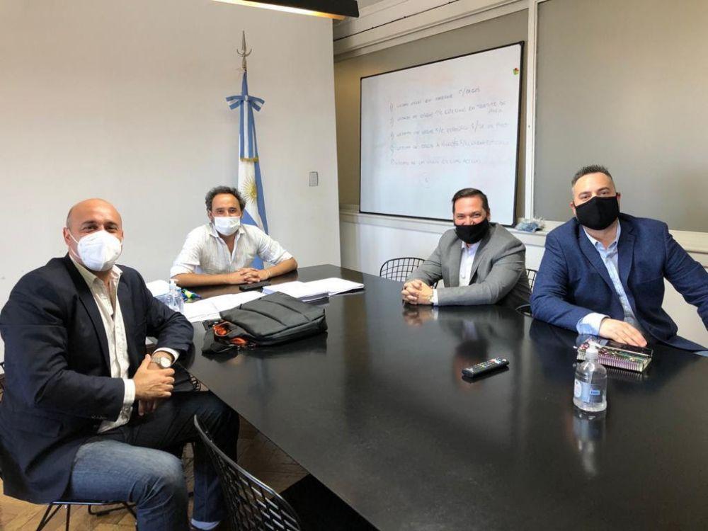 Amplia agenda de Tincho Ascúa con el equipo de Alberto Fernández