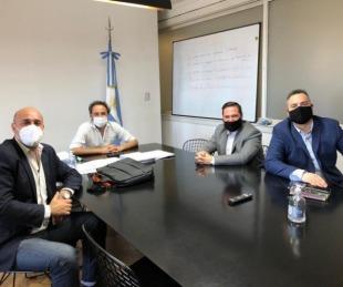 foto: Amplia agenda de Tincho Ascúa con el equipo de Alberto Fernández