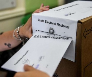 foto: Cámara Nacional Electoral exigió que se vacune a autoridades de mesa