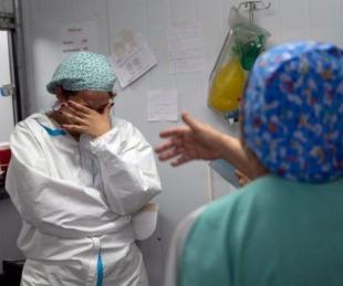 foto: Covid en Argentina: Registraron 24.999 contagios y 383 muertos