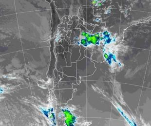 foto: Capital y otras 14 localidades bajo alerta por fuertes tormentas