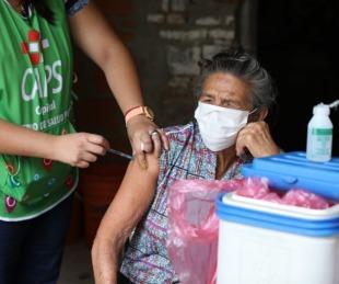 foto: Vacunación casa por casa: conocé qué barrios recorrerán este viernes