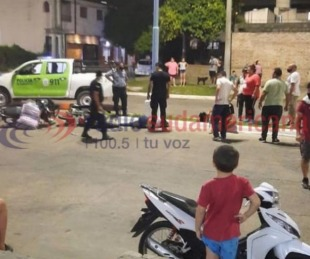 foto: Una mujer de 26 años murió tras violento choque entre dos motos