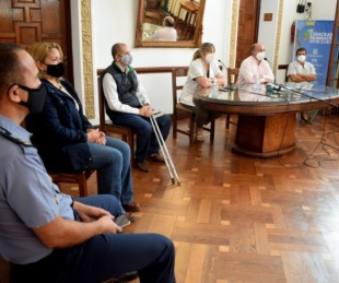 foto: Mercedes: el Comité de Crisis ratificó medidas preventivas hasta el 26