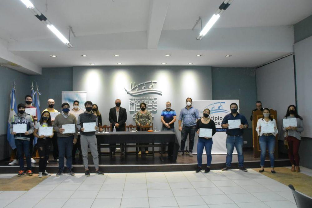 Libres entregó certificados de la capacitación en impresión 3D