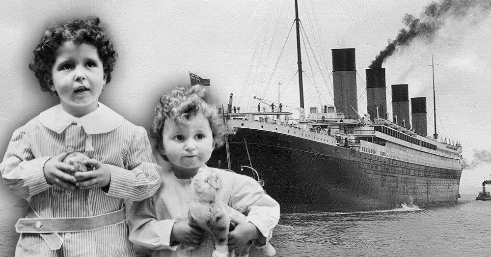 La historia de los huérfanos del Titanic que cautivó al mundo