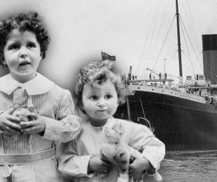 foto: La historia de los huérfanos del Titanic que cautivó al mundo