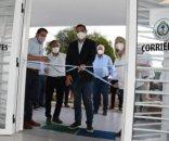 Valdés inauguró obras en el hospital de Carlos Pellegrini
