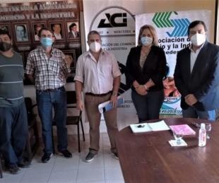 foto: El Gobierno provincial atrae inversores al Parque Industrial de Mercedes