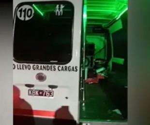 foto: Insólito: Detuvieron una despedida de solteras en una combi
