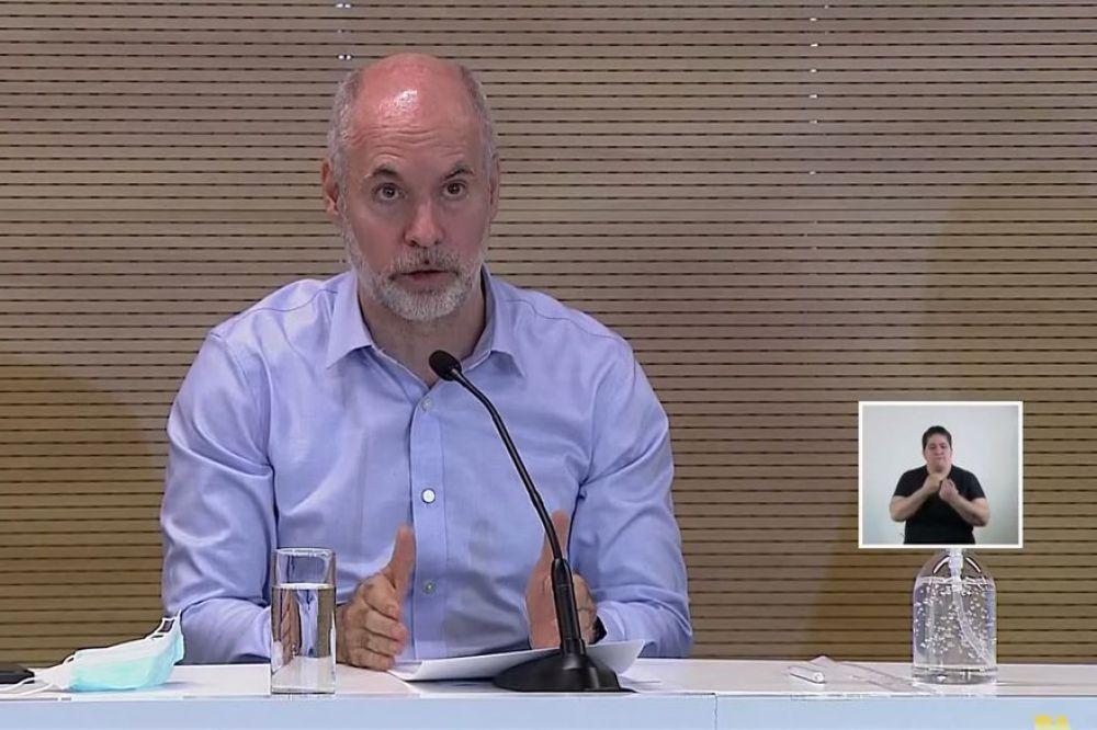 Qué dijo Larreta tras la reunión con el Presidente Alberto Fernández