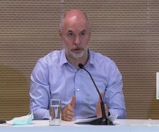 foto: Qué dijo Larreta tras la reunión con el Presidente Alberto Fernández