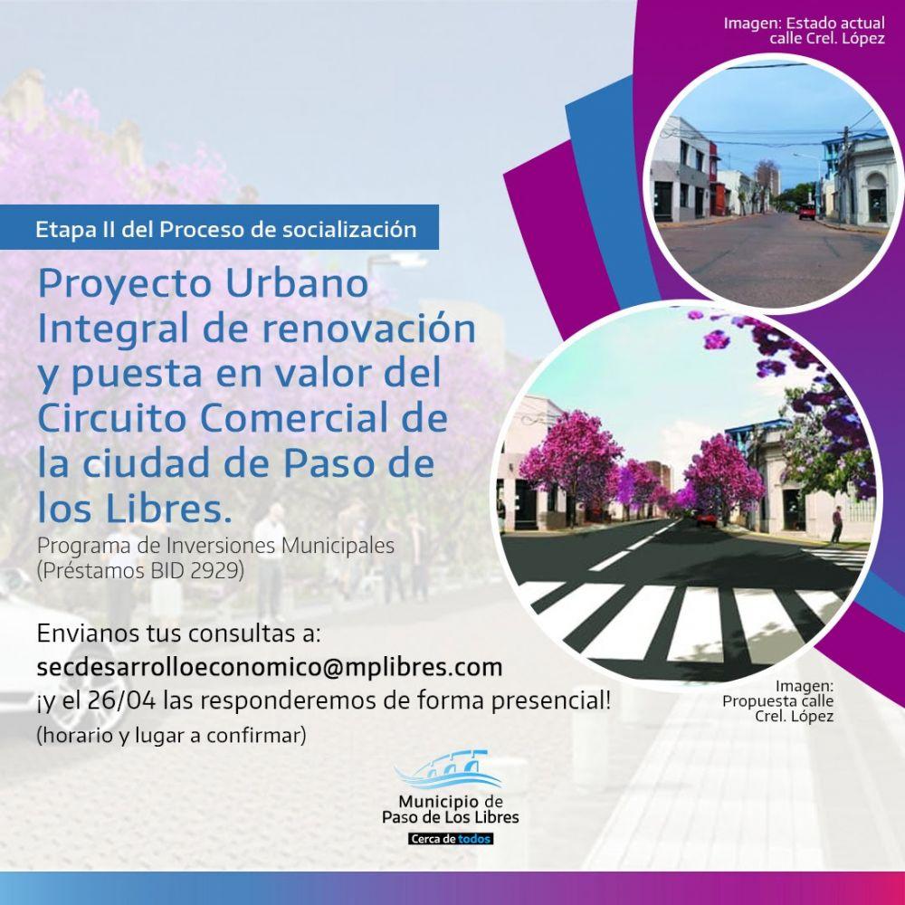 Reunión para exponer el Proyecto Urbano Integral de Renovación