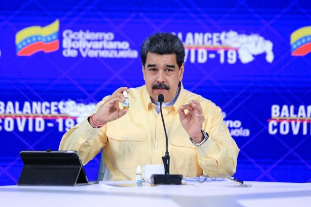 Las goticas milagrosas de Maduro sólo servirían como enjuague bucal
