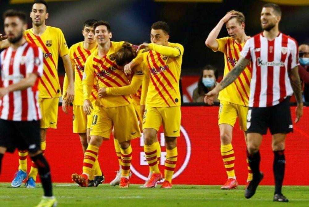 Barcelona salió campeón de la Copa del Rey con dos goles de Messi
