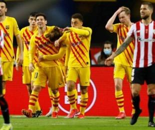 foto: Barcelona salió campeón de la Copa del Rey con dos goles de Messi