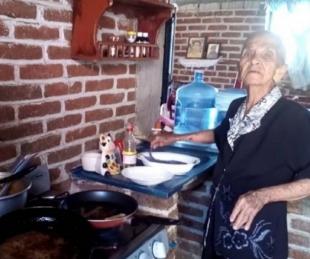foto: Tiene 87 años y se hizo un canal de recetas en YouTube para sobrevivir