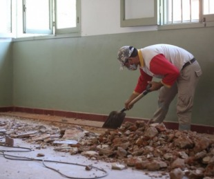 foto: La Provincia avanza en la ampliación del Hospital de Campaña