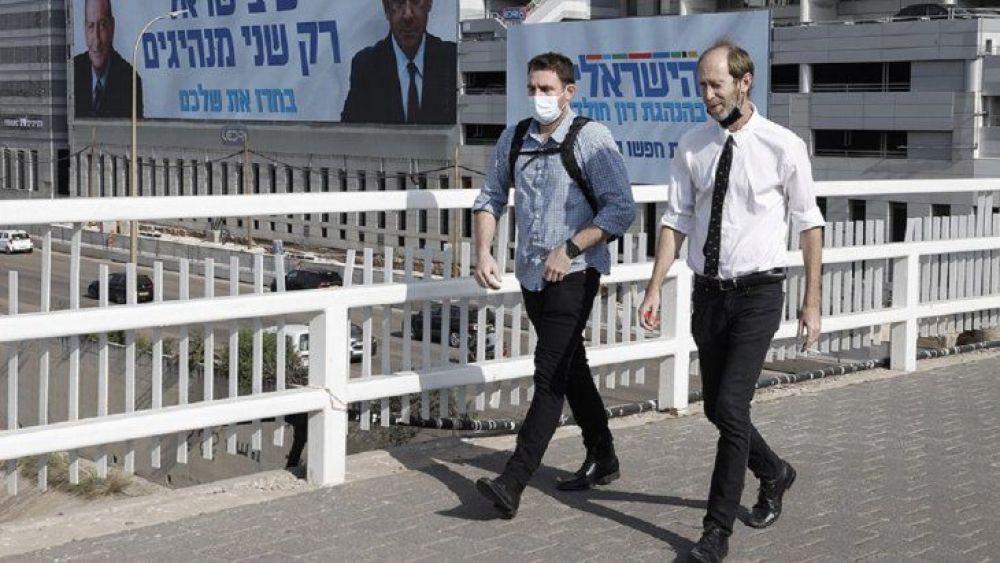 Israel: ponen fin al uso obligatorio de barbijos en lugares abiertos
