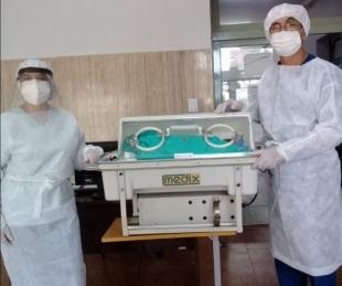 foto: Nació el trigésimo sexto niño en el Hospital de Campaña de Corrientes