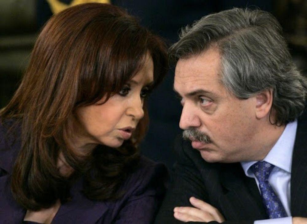 Fernández cumplía órdenes, y hoy le toca manejar con Cristina atrás