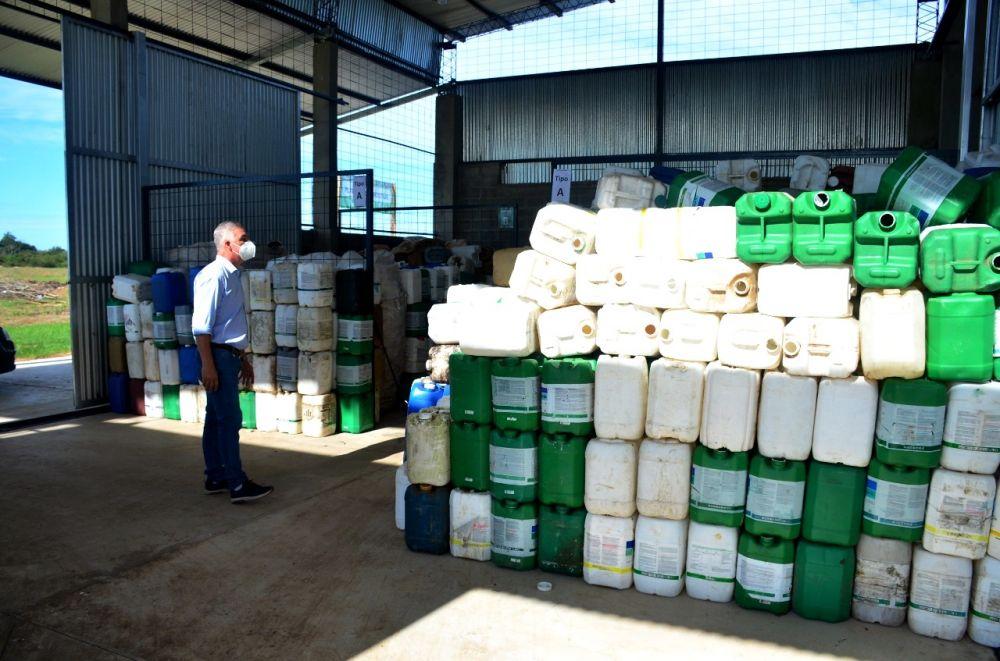 Bella Vista avanza en el manejo de residuos domiciliarios y fitosanitarios