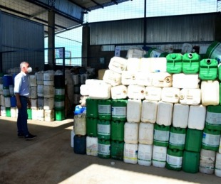 foto: Bella Vista avanza en el manejo de residuos domiciliarios y fitosanitarios