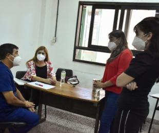 foto: Salud intensifica la respuesta a la pandemia en Goya