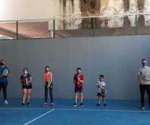foto: La Comuna libreña reduce cantidad de asistentes en el Polideportivo
