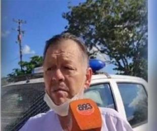 foto: Detuvieron a un médico por no usar barbijo mientras manejaba