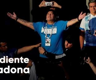 foto: La descripción más desgarradora del cuerpo de Diego Maradona