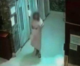 foto: Una joven deambulaba desnuda y en shock por la calle
